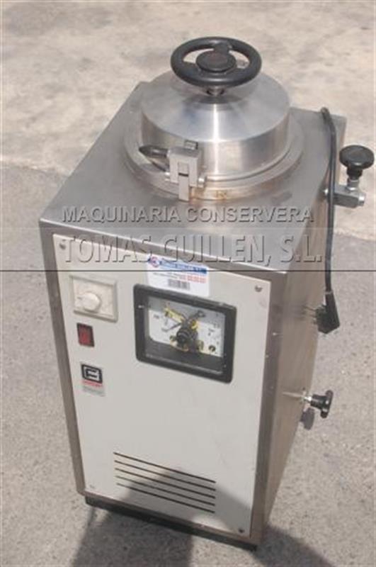 1 autoclave vertical de laboratorio de 1 cesta fedegari 1