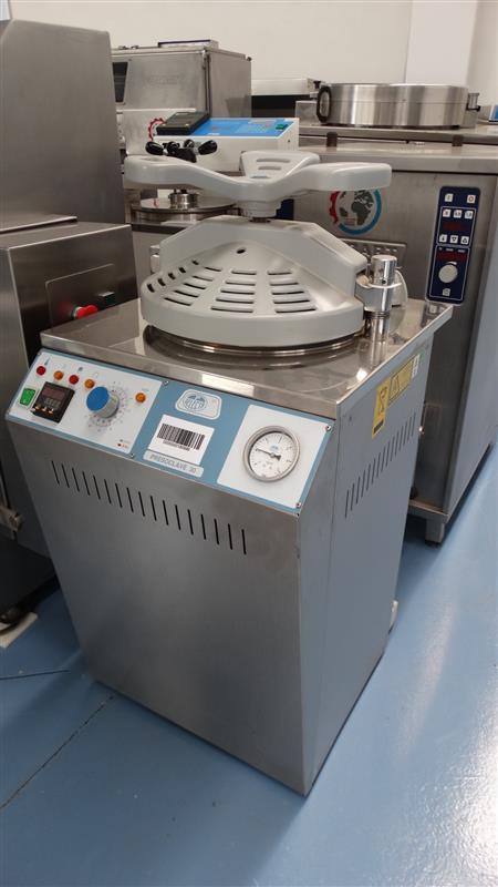 1 autoclave vertical de laboratorio selecta inox 2 j