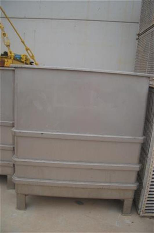 1 balsa cuadrada inox con compuerta lateral 1.35 m
