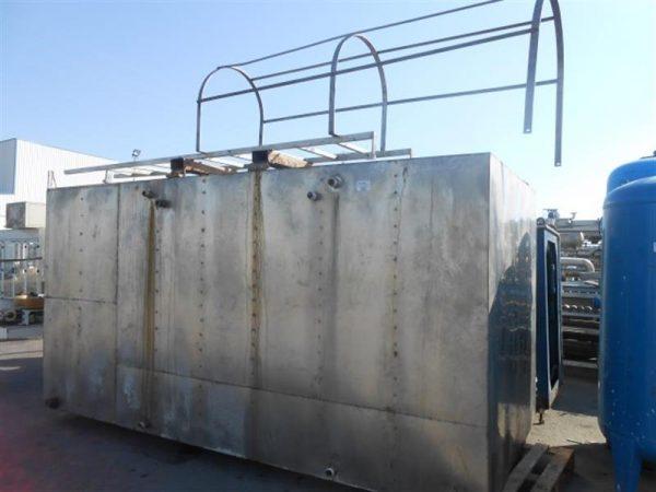 1 balsa en acero inox. 16.000 litros
