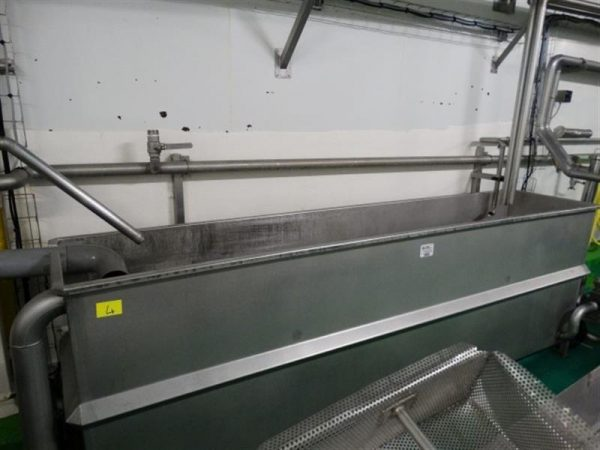 1 balsa rectangular en acero inox 1600 l