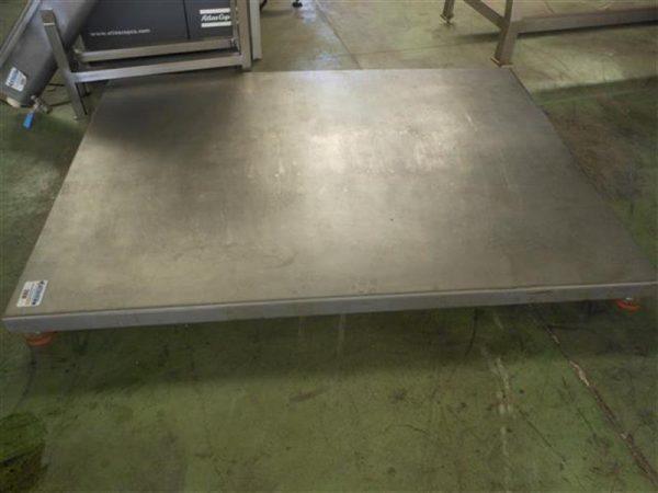 1 bascula de plataforma inox 1