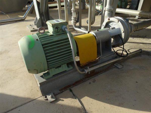 1 bomba centrifuga manzini inox 15 cv