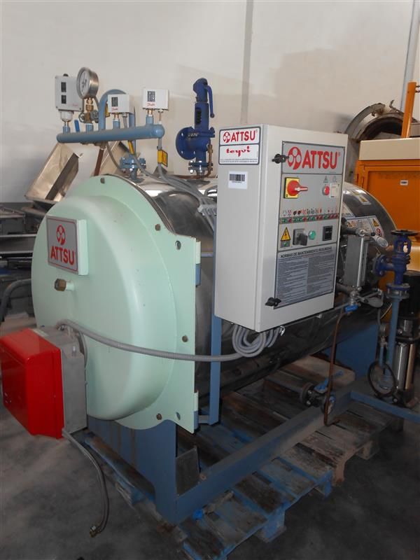 1 caldera de vapor attsu 300 kg vaporh