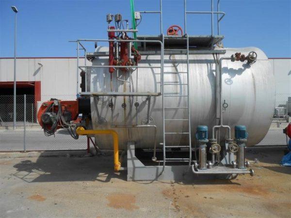 1 caldera de vapor de 5000 kg hora