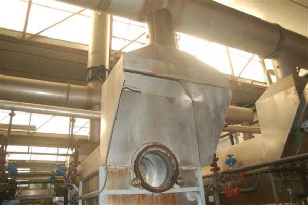 1 campana turbo extractora en acero inox 6