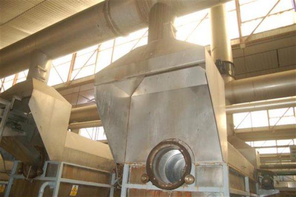 1 campana turbo extractora en acero