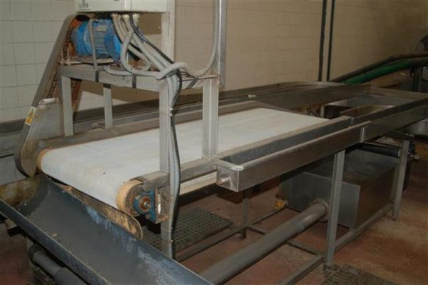 1 cinta transportadora con malla escurrir producto fma l2.90 m a57 cm