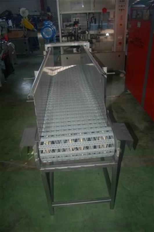1 cinta transportadora de banda modular en acero
