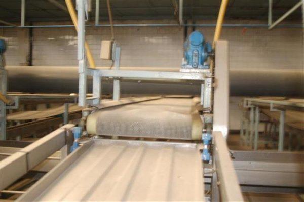 1 cinta transportadora de intralox perforada con pasarela l3.92 m a55 1 10