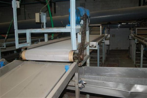 1 cinta transportadora de intralox perforada con pasarela l3.92 m a55 1 14