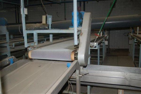 1 cinta transportadora de intralox perforada con pasarela l3.92 m a55 1 15