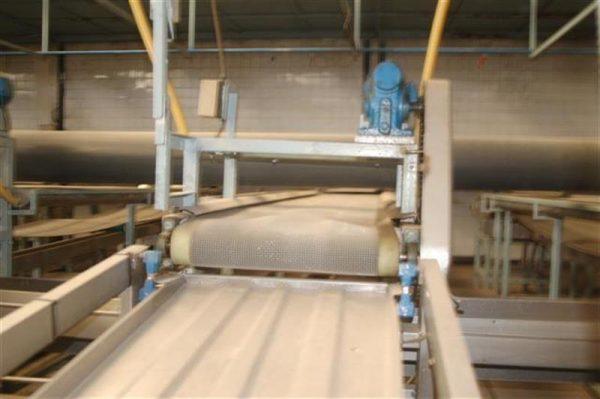 1 cinta transportadora de intralox perforada con pasarela l3.92 m a55 1 4