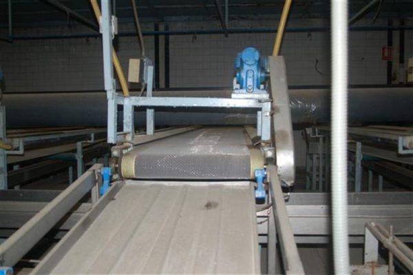 1 cinta transportadora de intralox perforada con pasarela l3.92 m a55 1 9
