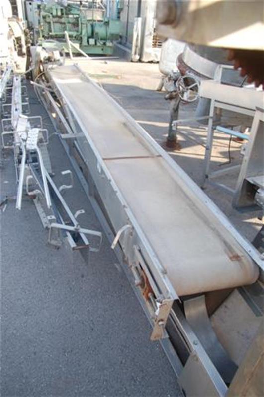 1 cinta transportadora de lona de l 5.20 m a 50 cm