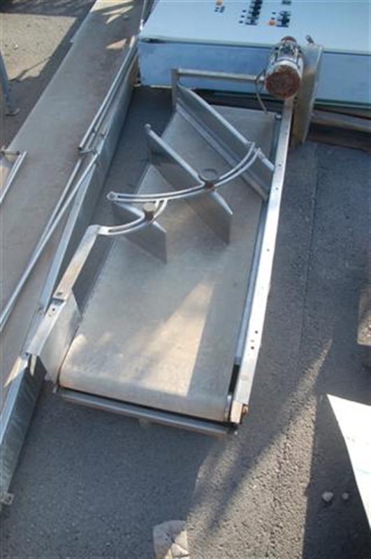 1 cinta transportadora de lona de l1.65 m a 50cm inmeconsur