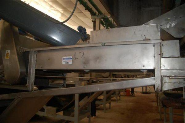 1 cinta transportadora de lona l 1.50 m a47 cm