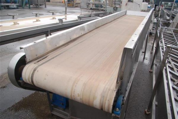 1 cinta transportadora de lona l4.40 m a82 cm