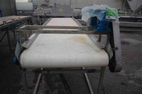 1 cinta transportadora de lona l4.85 m a 1 m
