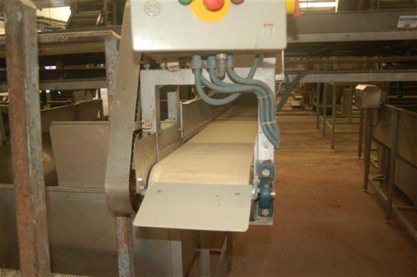1 cinta transportadora de lona para reparto elevadores l 2.40 m a24cm 1