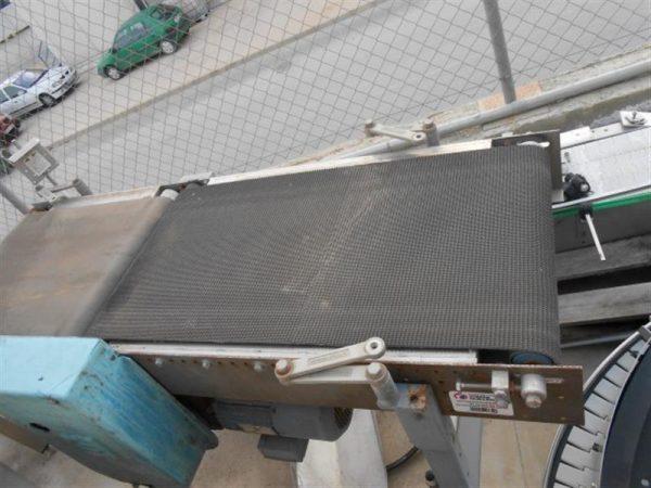 1 cinta transportadora inox l 1.50 m a 0.70 m