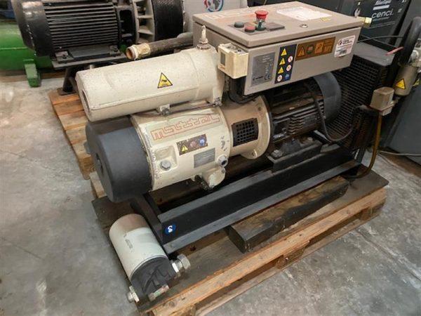 1 compresor de aire de paletas mattei 10 cv