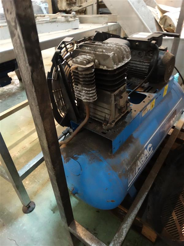 1 compresor de aire de piston abac 3 cv
