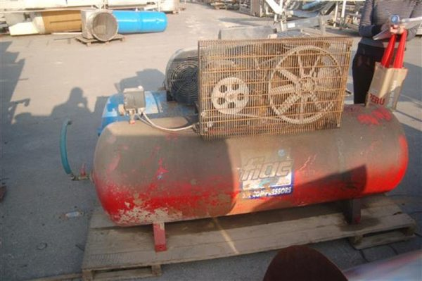 1 compresor de aire fiac 500 litros