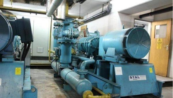 1 compresor de frio tornillo stal astra svb 75 270 cv