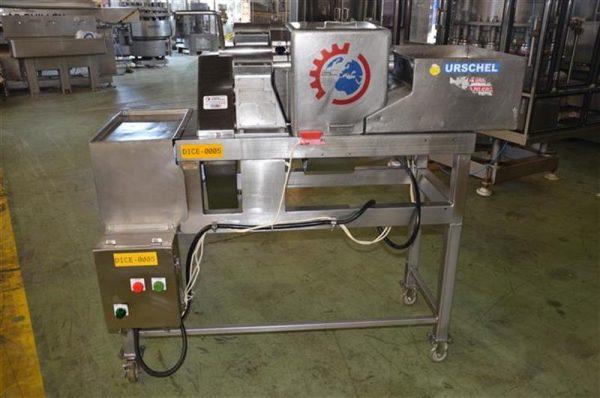 1 cortadora tridimensional urschel gk a en acero