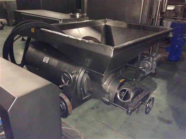 1 cutter bomba picadora en acero inox ks. cv 145.5