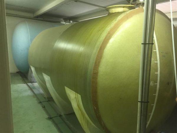 1 deposito horizontal de fibra de vidrio 13.400 l plavisa