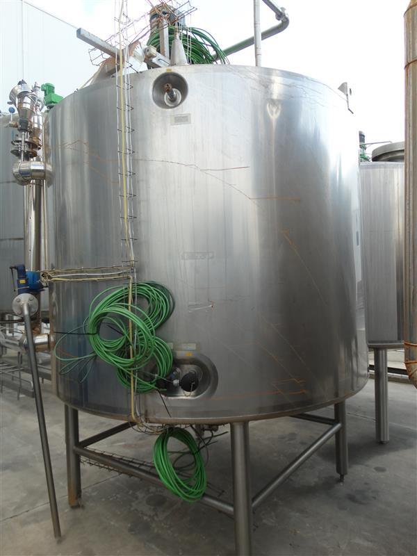 1 deposito mezclador de doble fondo 5000 l arsopi