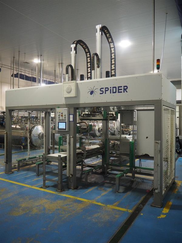 1 desenjaulador automatico de bandejas wals systems spider