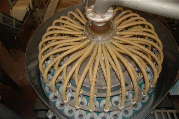1 desgajadora de 56 vasos en acero inox 7
