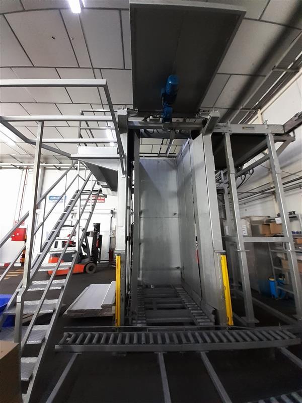 1 despaletizador automatico de envase vacio bronzoni inox. l 5 m