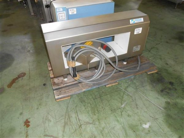 1 detector de metales prisma en acero