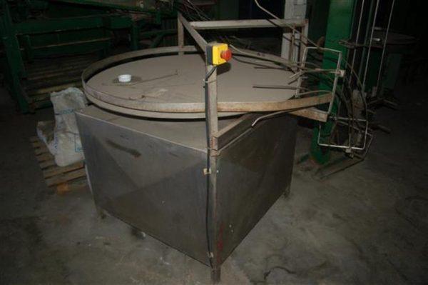 1 disco alimentador rotativo diametro 1.25 m