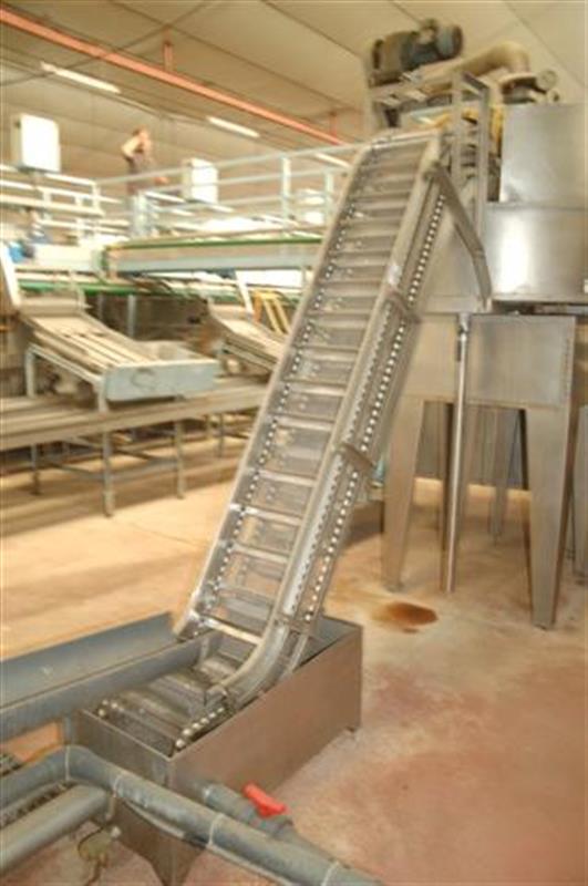 1 elevador de cangilones con balsa descarga 2.40 m