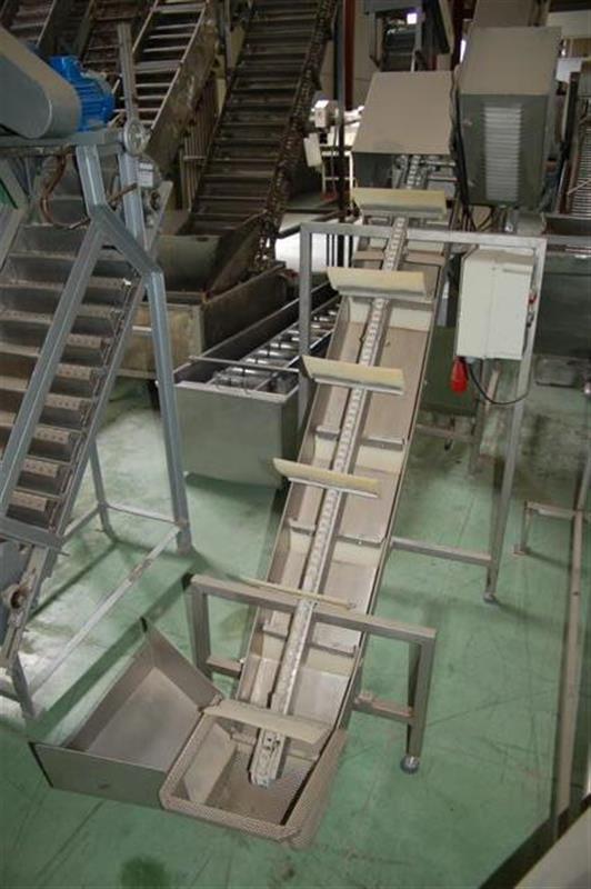 1 elevador de palas palinox descarga 1.20 m