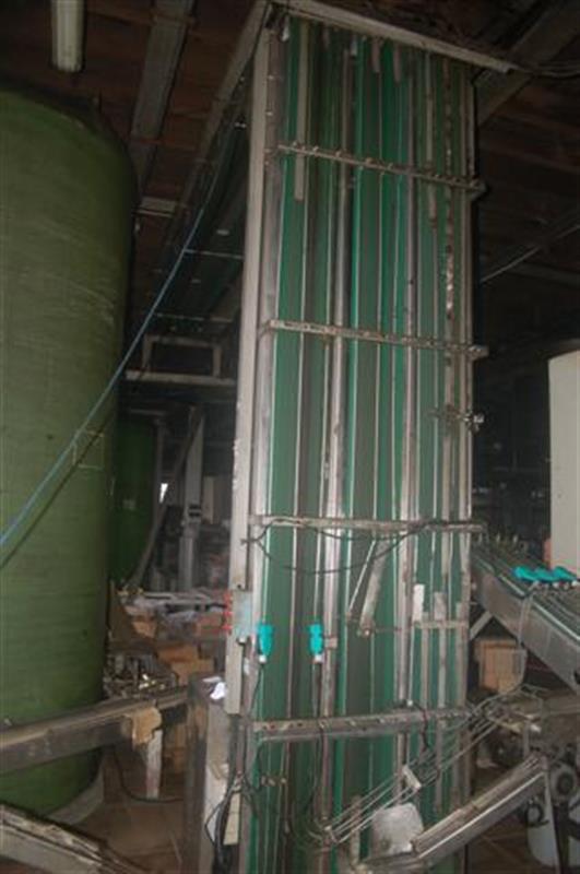 1 elevador magnetico de triple cinta en acero