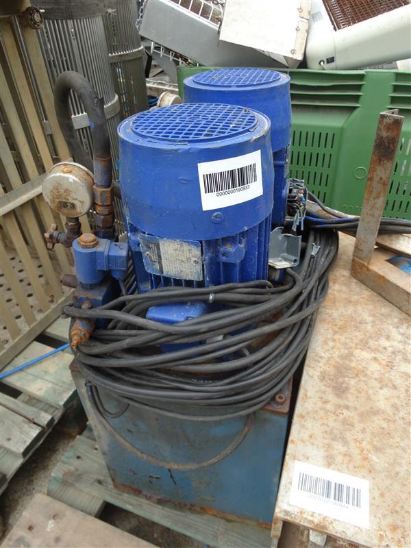 1 equipo de bomba hidraulica