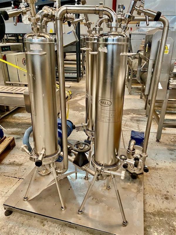 1 estacion de filtros tangenciales y bomba centrifuga
