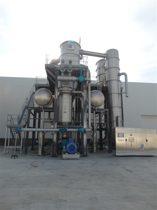 1 evaporador 3 efectos fbr elpo eco energy 1200 tndia