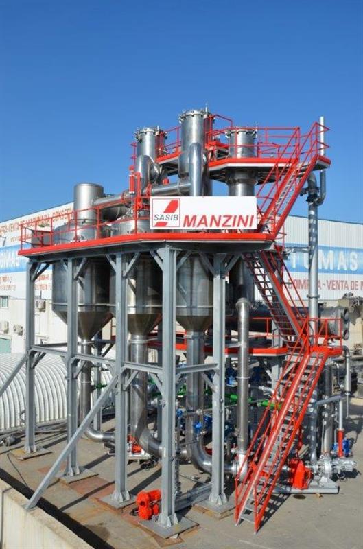 1 evaporador triple efecto m600 manzini