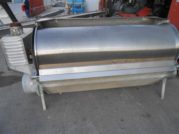 1 filtro rotativo para solidos en acero