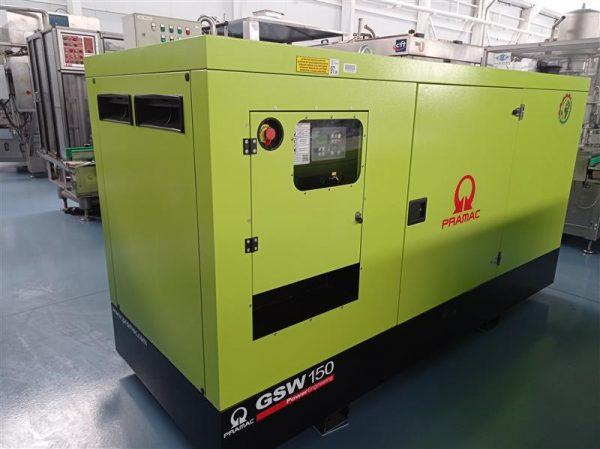 1 generador de corriente pramac 150 kva.