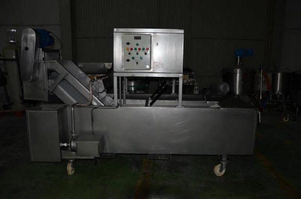 1 glaseador lineal de cangilones de banda modular en acero inox 1