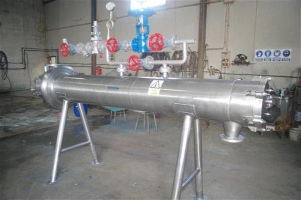 1 intercambiador tubular automatico