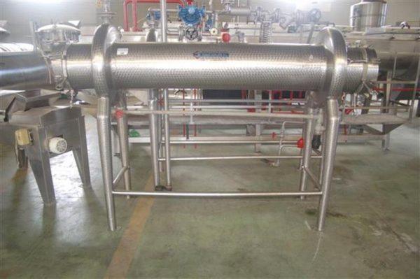 1 intercambiador tubular automatico 20 tubos